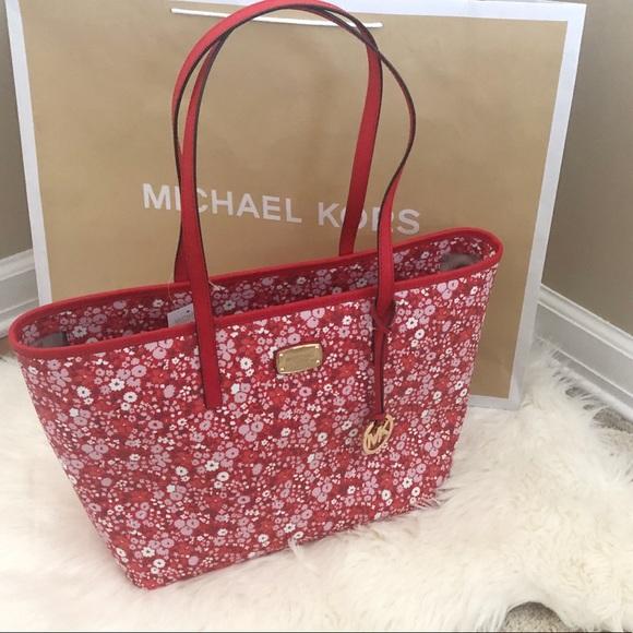 84bea3b9d050 Michael Kors Bags | Floral Tote | Poshmark